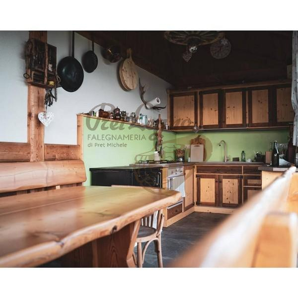 cucina in abete