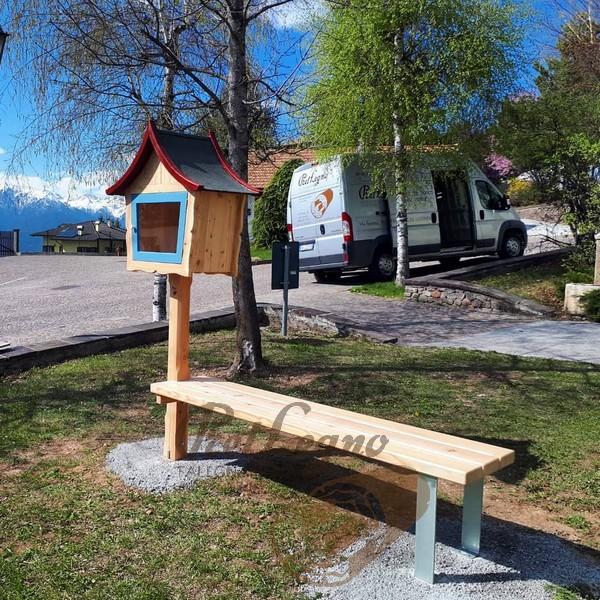 little free library nel paese di Sfruz